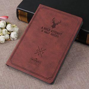 Custodia in pelle PU retro sottile antico vintage di lusso stile Flip Book per Apple iPad mini 4 Retina copertura protettiva completa Shell