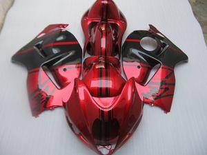 НОВЫЕ комплекты HOT обтекателя для Hayabusa GSX1300R 1909-2007 GSX-R1300 Красного обтекателя ZZ491