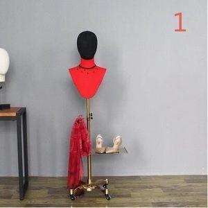 Comercio al por mayor 16style Joyería bandas para el cabello bufandas pecho morir morir bronce ventana ventana cosmetologíaadjustable-mannequin 1 UNID B609