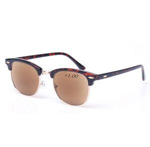 Okuma Gözlükleri Ultralight Kaşları Hipermetrop Gözlük Anti-yorgunluk Lens Erkekler Kadınlar Okuma Gözlük Güneş Gözlüğü Okuyucular Dahil 10 adet / grup