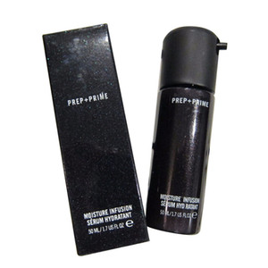 Berühmte Marke Hot Face Prep + Prime Feuchtigkeit Infusion Serum Hydratant Primer 50 ml Foundation Glasflaschen DHL geben Verschiffen frei