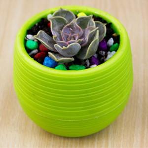Gartenarbeit Blumentöpfe Kleine Mini Bunte Kunststoff Kindergarten Blume Pflanzer Töpfe Garten Deco Werkzeug Hohe Qualität schnelles verschiffen