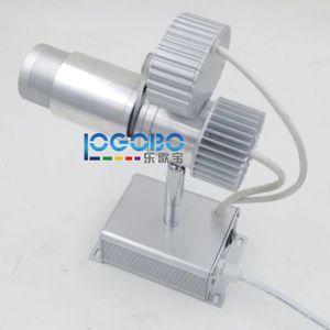 Inteligente 10W imagen LED Rotación Gobo Light American DJ Reflector Reflector de iluminación con logotipo personalizado para empresa de publicidad de bodas