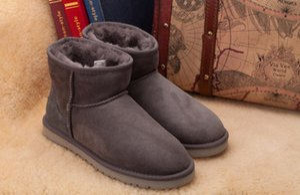 ENVÍO GRATIS 2017 venta de la fábrica NUEVA Australia botas de invierno alto clásico de cuero real Bailey mujeres bailey bow boot