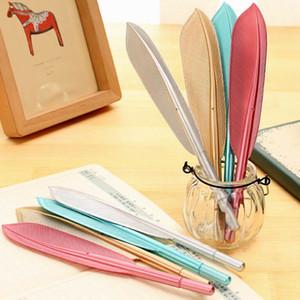 Schöne Feder Kugelschreiber Kugelschreiber Schreiben für Schulbedarf Stationery Günstige Artikel Netter Kawaii Pen Schreibwaren