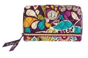 Flower Cotton Turn Wallet Card Wallet Femmes verrouillage