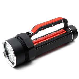 Фонарь яркий Dimming X X CREE XM-L2 U2 бесступенчатая лампа 6000 6 Super 2 Diving Flashlight Tolech Diving 32650 люменов фонарик Qeigs