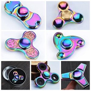 Stressabbau EDC Spielzeug Neuheit Hand Zappeln Spinner Legierung Dekompression Angst Fingerspielzeug für Tötungszeit Professionelle Finger Gyro