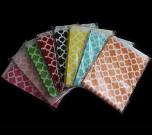2017 bolsas de embalaje de la venta caliente Fuentes de la fiesta verde de una sola vez bolsa de alimentos Un bolso de papel de diseño de trébol Bolsa de papel de color