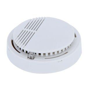 Detector de humo Alarmas Sistema Sensor Alarma de incendio Detached Detectores inalámbricos Seguridad en el hogar Alta sensibilidad Estable LED W 85DB 9V Batería 50