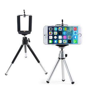 Universal Mini 360 Rotating Extensível Mini Tripé + Suporte Titular Para Samsung Nota 3 Galaxy S5 iPhone 5S 4S para a galáxia nota
