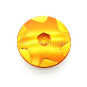 Orange Motorrad Aluminium Car Racing Motordeckel Nockenwellen-Stecker für 2014 KTM DUKE 125/200/390 1 Set