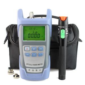 Verificador visual do cabo da fibra ótica do localizador da falha 30mW e poder de fibra óptica do poder do medidor (-70dBm ~ + 10dBm)