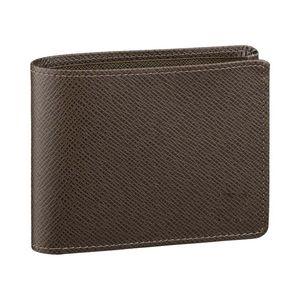 Aber Yepyeni Çoklu Cüzdan Erkek Gerçek Deri Cüzdan erkekler için M60895 Popüler kart sahibi cüzdan Çoklu Kısa Billfold cüzdan cüzdan