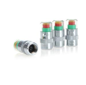 미니 2.4Bar 자동차 타이어 타이어 압력 캡 TPMS 도구 경고 모니터 밸브 표시기 3 색 경고 진단 도구 액세서리
