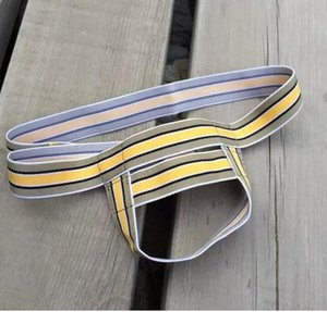 남성 속옷 Cremaster Scrotal Support Varicoceles G-strings T 끈 팬티 섹시한 속옷 남성 섹시 속옷 남자 수영복 3 색