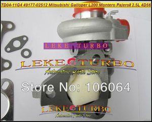TD04 49177-02513 49177-07612 MD194845 MR355225 Turbo para Mitsubishi L200 Montero Pajero II para Hyundai Galloper 4D56Q 4D56 2.5L