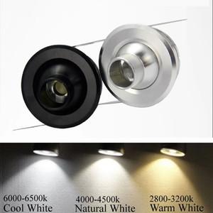 Мини потолочный светильник 3W LED Downlight Spot Cabinet light display counter утопленный фон стены AC110V 220V теплый / холодный белый 360 угол