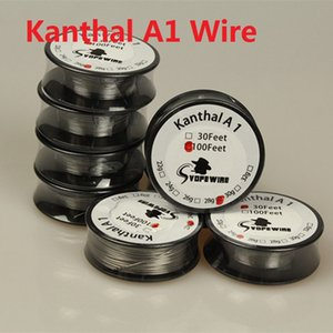 KanthalA1 Draht 30 Fuß VOPE WIRE Heizwiderstand Spule AWG 22 24 26 28 30 32 Gauge Wire DIY