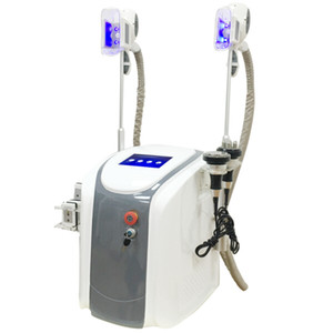 Professionale Dual Handles Cryolipolysis Freeze Fat Lipolaser Cavitazione RF Fat Congezing Cryo Shape Cool Body Sculpting Body Body Slimming Machine