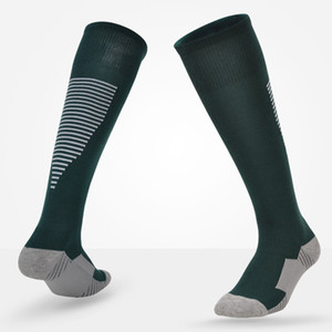 Soccer Socks Kids Children Comfort Sport Football Soccer Above Knee Boys Girls High Knee Sports Socks Plain Long Socks Cotton