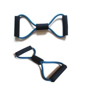 8 formação em forma de resistência bandas tubo de corda treino de exercício para yoga sports body equipamentos de fitness ferramenta frete grátis za1944