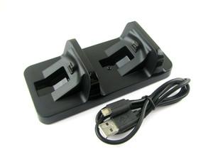 Dual USB Charger Gaming Controller Estación de carga Dock Stand para PS4 Sony Playstation 4 consola de juegos accesorios para joystick