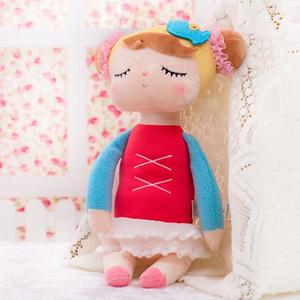 13 pulgadas de felpa dulce linda encantadora rellena bebé niños juguetes para niñas cumpleaños regalo de Navidad Angela conejo chica Metoo muñeca