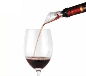 Parti iyilik düğün iyilik 10-Pack Şarap Havalandırıcı Pourer Kırmızı Şarap Aksesuarları Araçları ile Gıda Güvenliği Sınıf Silikon ve Akrilik Filtre Pourer