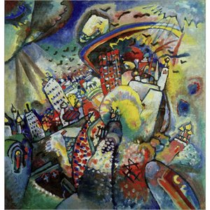 Abstract modern art Moscow Wassily Kandinsky oil paintings Canvas hand-painted