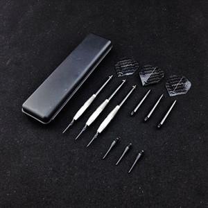 3 pcs / set dardo New alta qualidade 18g Professional eletrônico suave Dica Dardos Copper Rod Anti-jogue Aluminum Shaft Asa Negra Mole Tip Dart Toy
