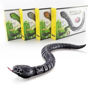 IR RC Hayvanlar Çıngıraklı yılan Yılan Kırkayak Biyonik Sürüngen 3ch Kızılötesi Uzaktan Kumandalı Yılanlar Chilopod Çıngırak Yılan Tricky Beyinler Oyuncaklar