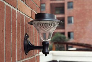 Solar Lâmpada de parede, Jardim / jardim / pátio 32Led Solar Lights, Caminho Solar Lamp Ni-MH Segurança da bateria sem fio lâmpada Jardim