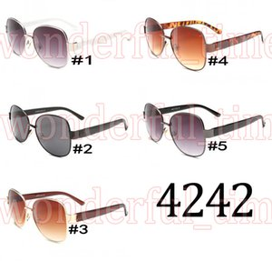 2017 neue Mode Unisex Retro Metall Großen Rahmen Sonnenbrille Reiten Im Freien Strand Sonnenbrille Fahren Goggle UV400 5 Farben A + + + Kostenloser Versand