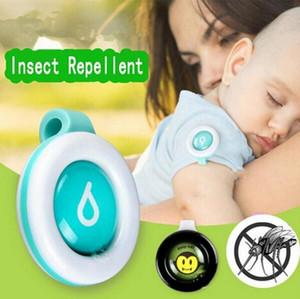 Neue Anti-Mücken-Knopf-nette Karikatur-Mückenschutz-Klipp-Erwachsen-Kind-Sommer-ungiftige Mückenschutz-Wölbungs-Schädlingsbekämpfung