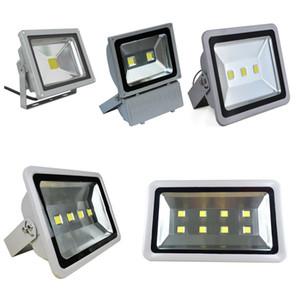 Ücretsiz Nakliye Led Projektörler Su Geçirmez 100 W 150 W 200 W 250 W 300 W 300 W 400 W Led Açık Sel Işıkları Led Peyzaj Lambası AC 85-265 V ücretsiz kargo