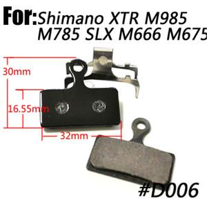 Catazer Disco Ciclismo Pastillas de Freno Semi Metal Fit Para SHIMANO M785 M965 4 Pares Por Lote Envío Gratis