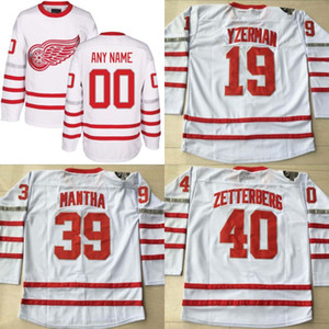 2017 Centennial Classic Premier Jersey 100 Anniversary 15 Riley Sheahan 39 Anthony Mantha 72 Andreas Athanasiou Detroit Red Wings Jersey