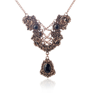 Collana Steampunk vintage Lettera Y forma a forma di ciondolo a forma di ciondolo Collana argento antico gioielli in bronzo Accessori da donna Regali