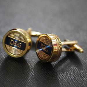 Hohe qualiry neue Rose goldene Manschettenknöpfe Männer für Männer Hemd Zubehör 2 PC ein Los frei cufflink Versand