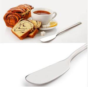 150pcs 도매 스테인리스기구 칼 붙이 버터 나이프 치즈 디저트 잼 살포 기계 조반 공구 새로운 식기