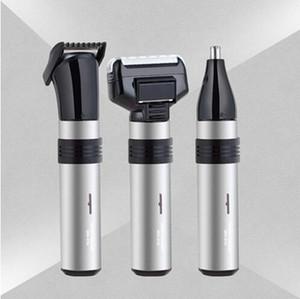 SM-515 3 in1 الكهربائية الأنف المتقلب للرجال قابلة للشحن إزالة شعر الوجه الحاجب الأذن مثلوث للماء آمنة ودائمة اللحية المتقلب