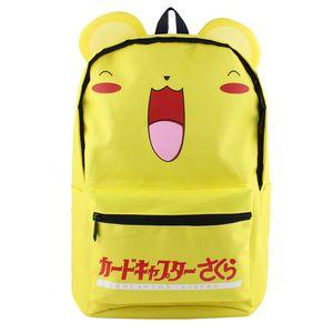Card Captor Anime Backpack Colorful Canvas Bag Dragon Ball School Bag Hot Sale New Book Bag