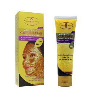 Máscara de ouro Caviar Peel Off com Liciroc Extrac100ml Aichun pele máscara máscaras faciais para Face AC203-1 DHL grátis