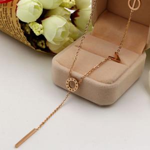 Collar pendiente de Mickey del acero inoxidable 316L de alta calidad de la joyería de la cáscara de la moda para las mujeres