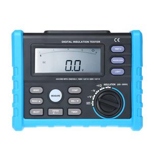 Freeshipping testeur d'isolation numérique mètre haute performance megger 250V ~ 2500V mètre de précision multimètre outil de diagnostic