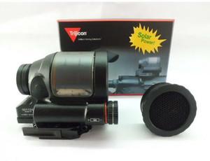 vista olografica Trijicon SRS 1x38 Solare Red Dot Sight con coperchio anti-riflesso per qualsiasi binario da 20 mm
