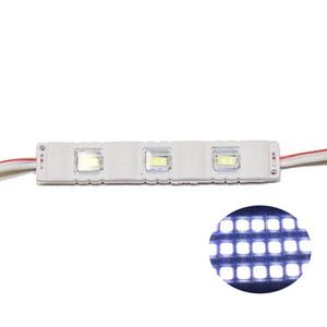 SMD5630 Led 모듈 사각 렌즈 led 모듈 빛 주입 PVC 플라스틱 3Leds 1.5W 백라이트 Led DC12V 화이트 R / B / G / Y 100pcs