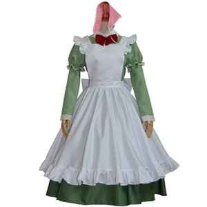 Malidaike Anime Halloween Party Suit Axis Powers APH Hetalia Axis Italian Maid Cosplay Costume