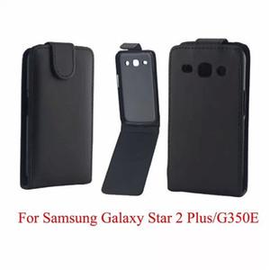 Téléphone Sacs Couverture Pour Samsung Galaxy Core Plus G350 cas de téléphone Retour coque PU en cuir Flip Vertical Up-Down Peau ouverte peau